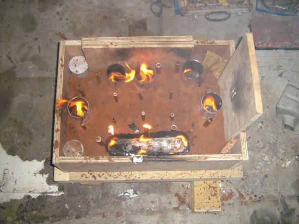 Sliding throttle bodies diy metal casting build threads for Diy cast net