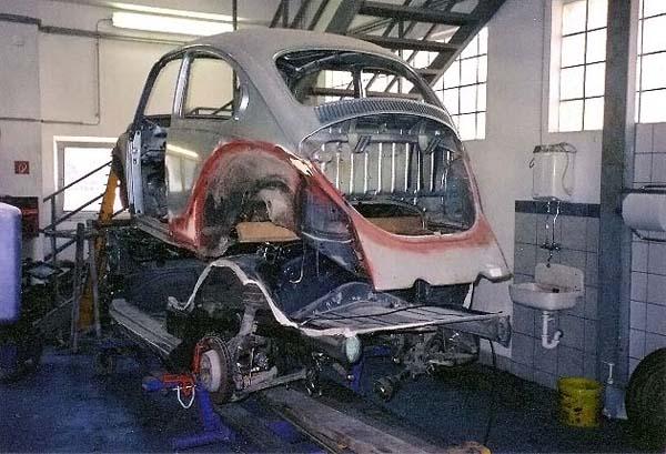 Vw Beetle Porsche Boxster Build Threads
