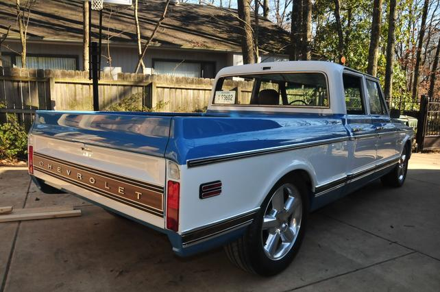This guy is my Hero Building a 1972 4 Door Chevy Truck from