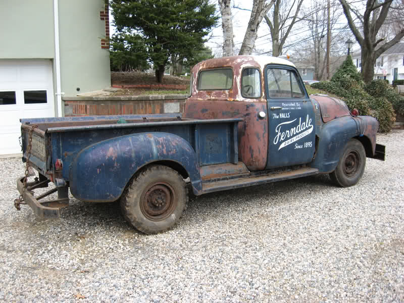 1953 Chevy Pickup Build Threads