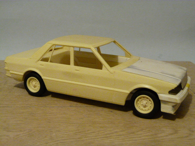 scratch built 1 25 scale xe ford falcon build. Black Bedroom Furniture Sets. Home Design Ideas