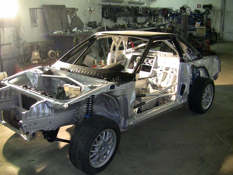 K20a Rallycross Mr2 Build Threads