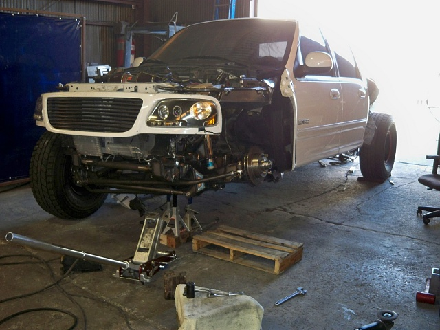 Fabricated Ford F150