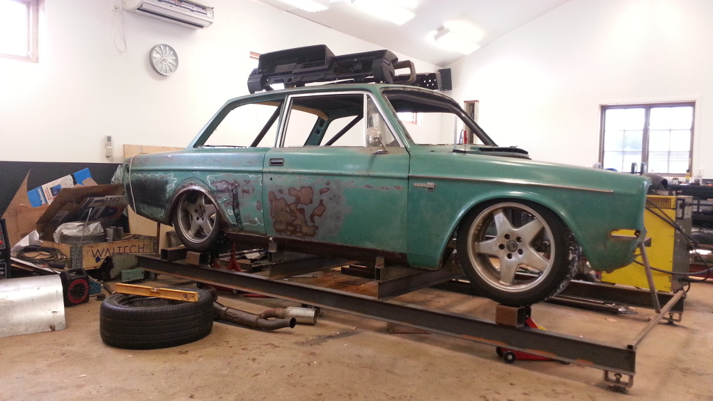 4-rotor volvo 142 | build threads