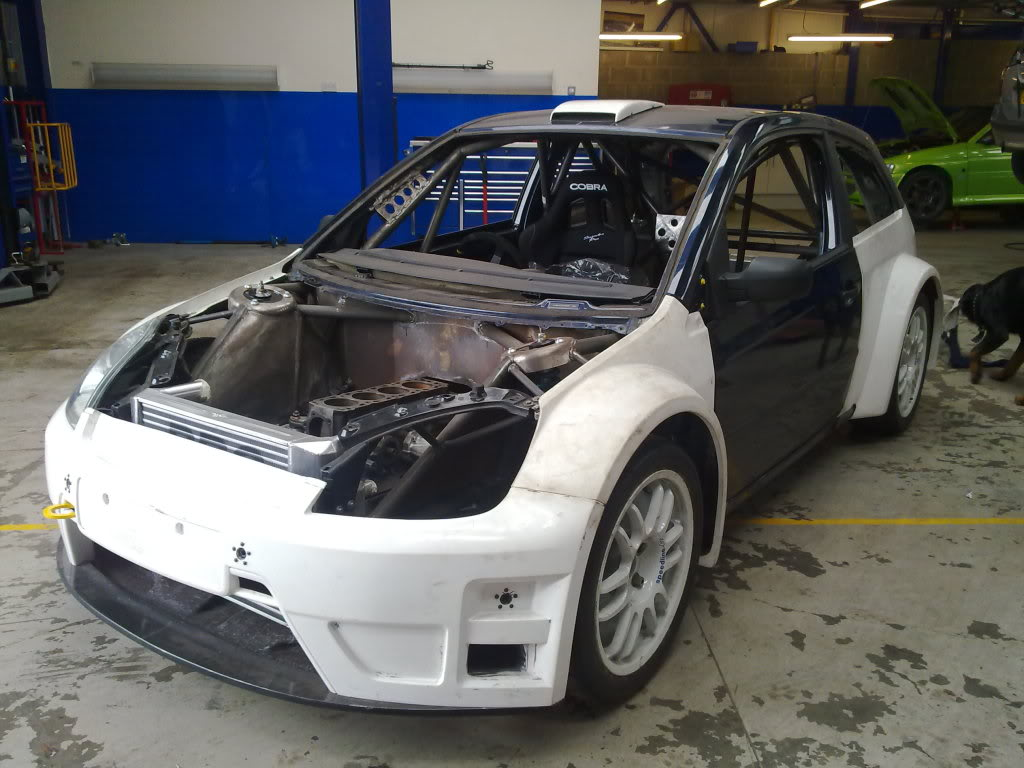 AWD Ford Fiesta Cosworth – Build Threads