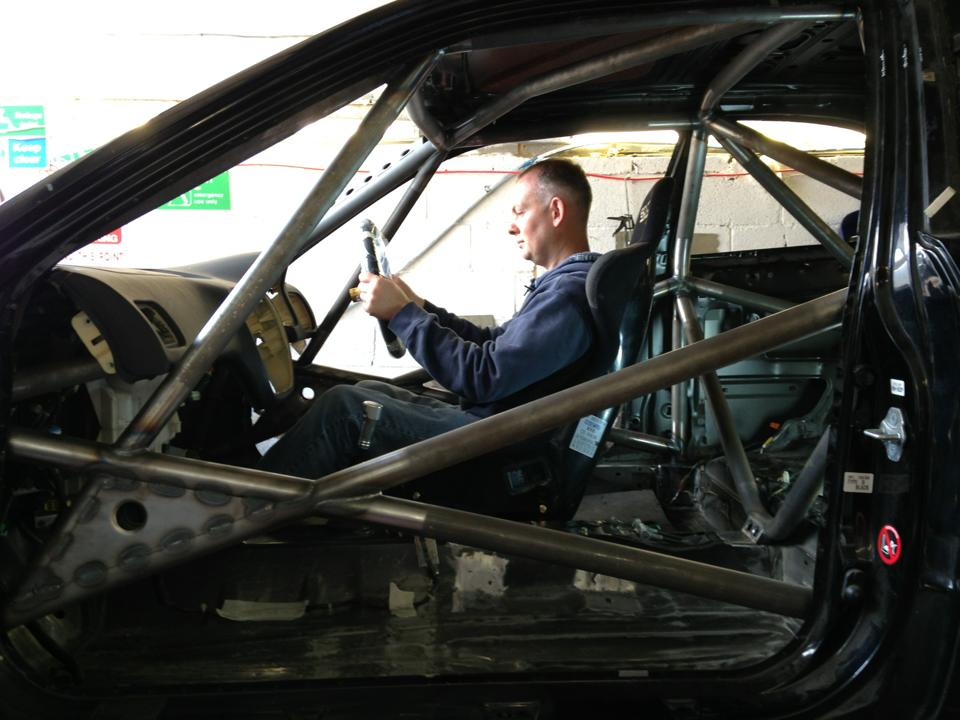 LEIGH PRATTS HONDA CIVIC EK4 RALLY CAR BUILD - LEWIS BUILT (10)