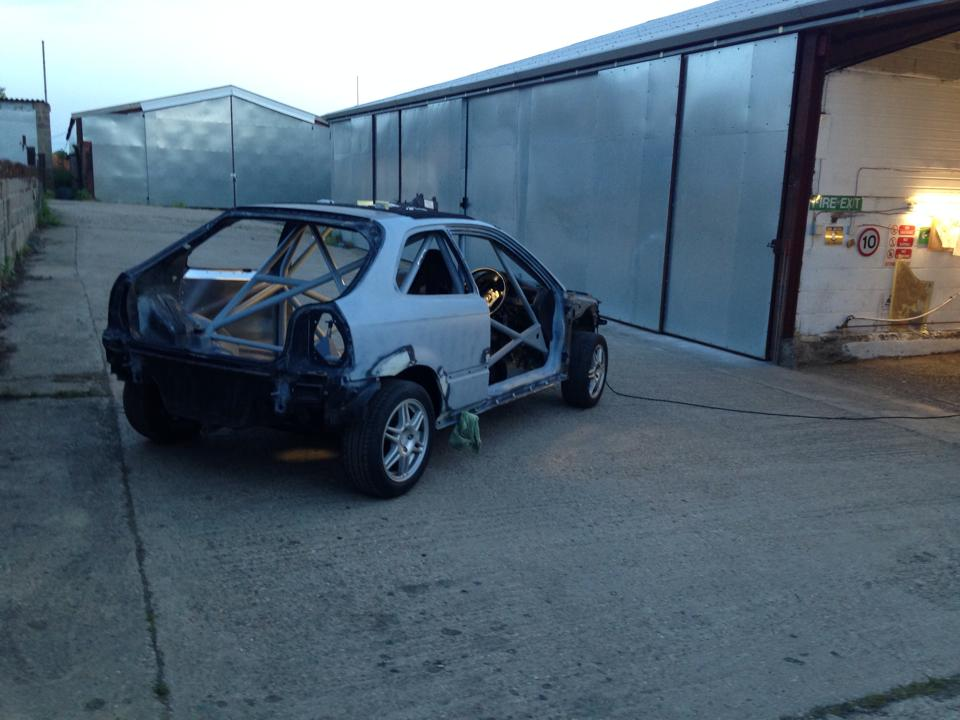 LEIGH PRATTS HONDA CIVIC EK4 RALLY CAR BUILD - LEWIS BUILT (11)