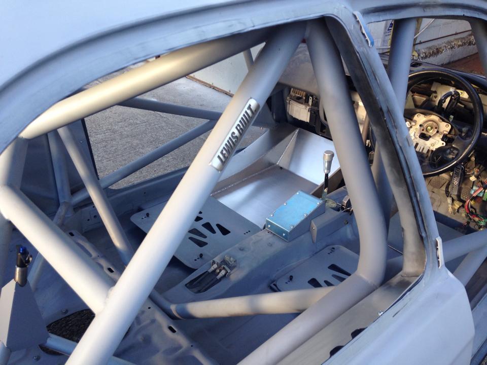 LEIGH PRATTS HONDA CIVIC EK4 RALLY CAR BUILD - LEWIS BUILT (13)