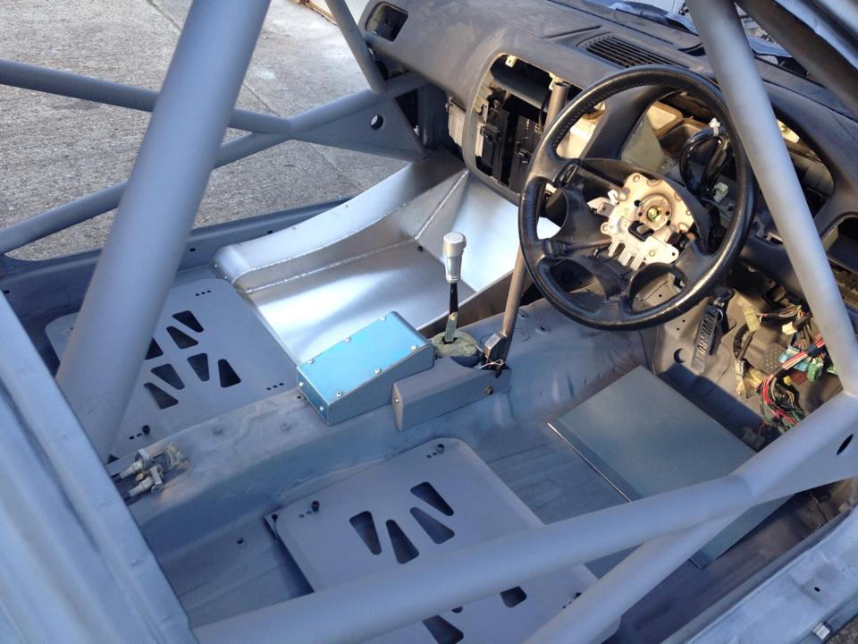 LEIGH PRATTS HONDA CIVIC EK4 RALLY CAR BUILD - LEWIS BUILT (16)