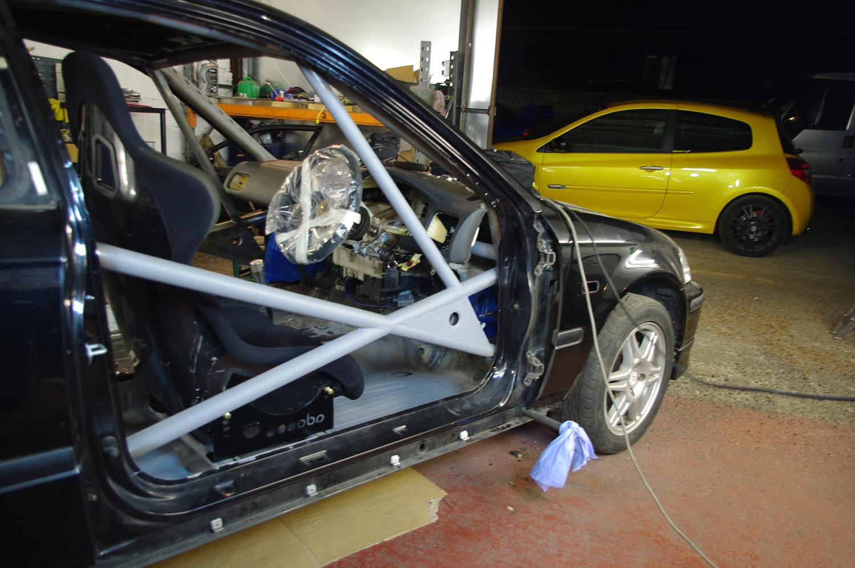 LEIGH PRATTS HONDA CIVIC EK4 RALLY CAR BUILD - LEWIS BUILT (18)
