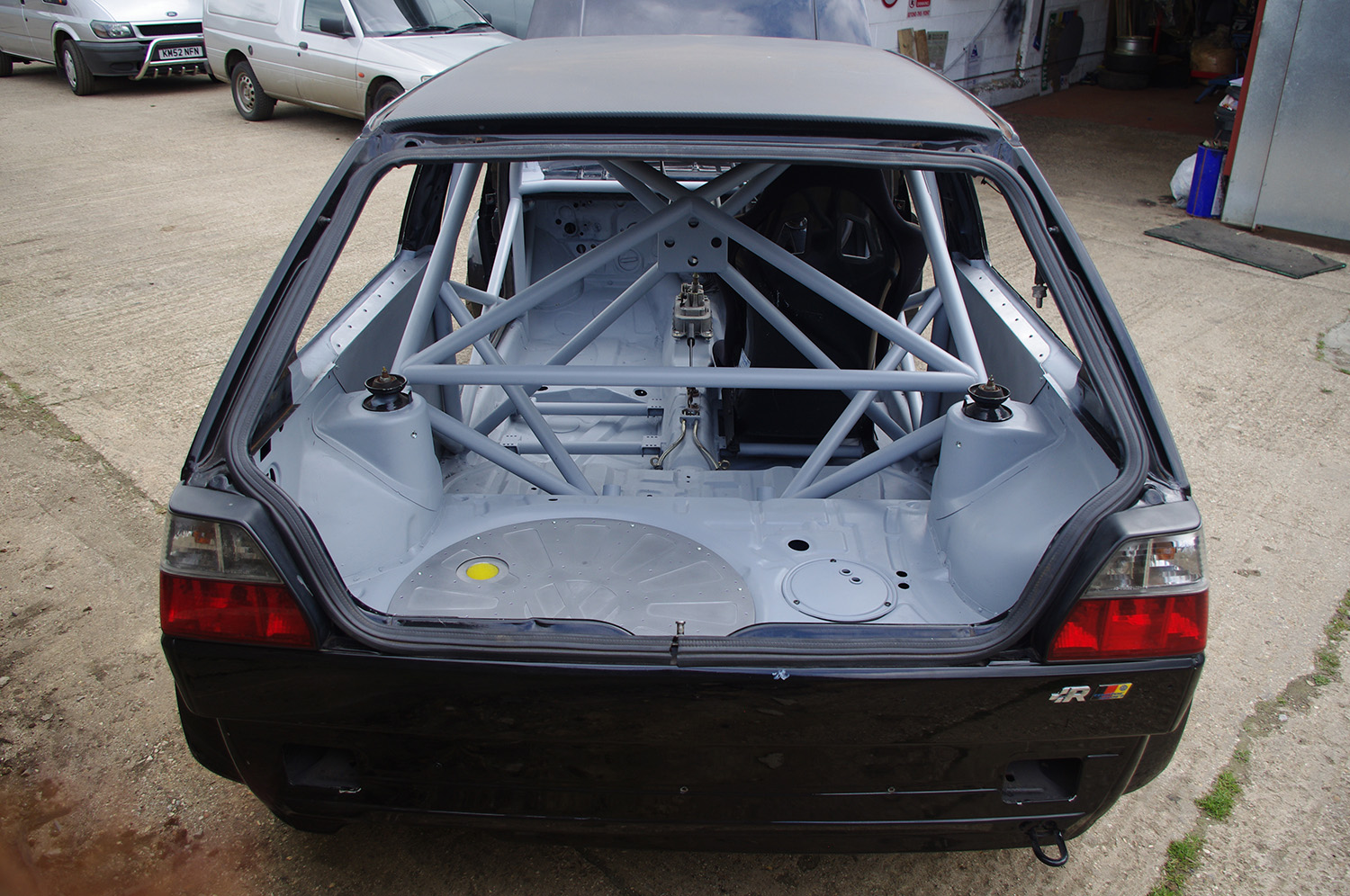 MATTHEW MCCONACHIE MK2 GOLF 650hp 4WD GOLF RACECAR BUILD - LEWIS BUILT 2014 (19)