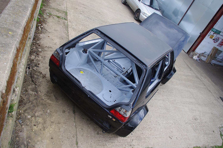MATTHEW MCCONACHIE MK2 GOLF 650hp 4WD GOLF RACECAR BUILD - LEWIS BUILT 2014 (20)