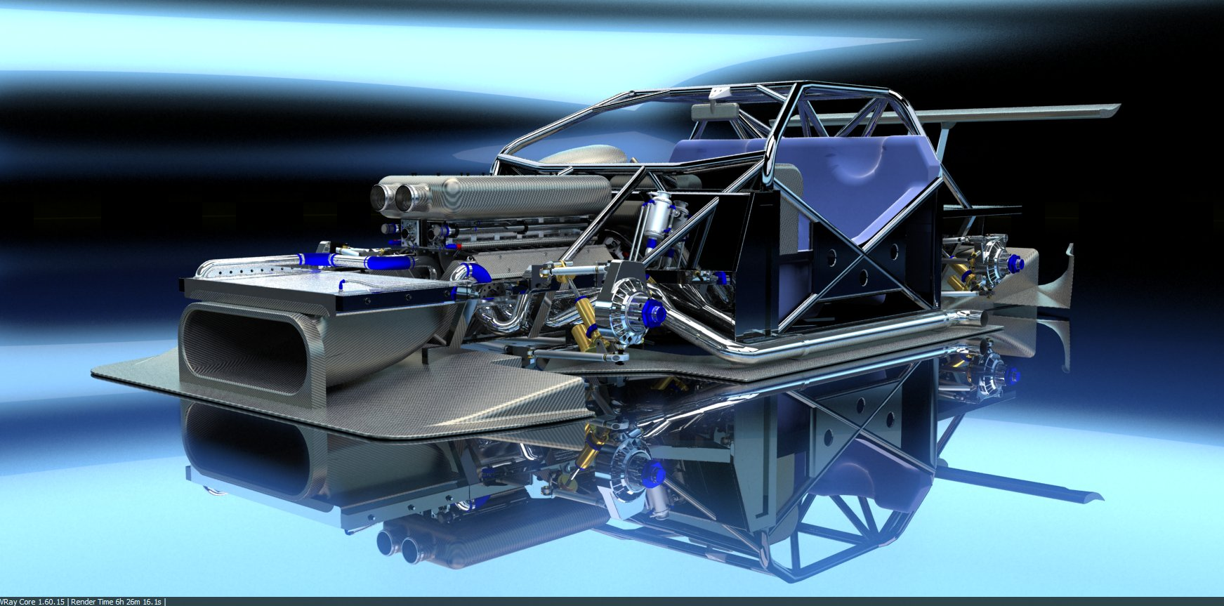 PEASNELL RACING DESIGN 575 GTC HILLCLIMB CAR DETAIL (3)