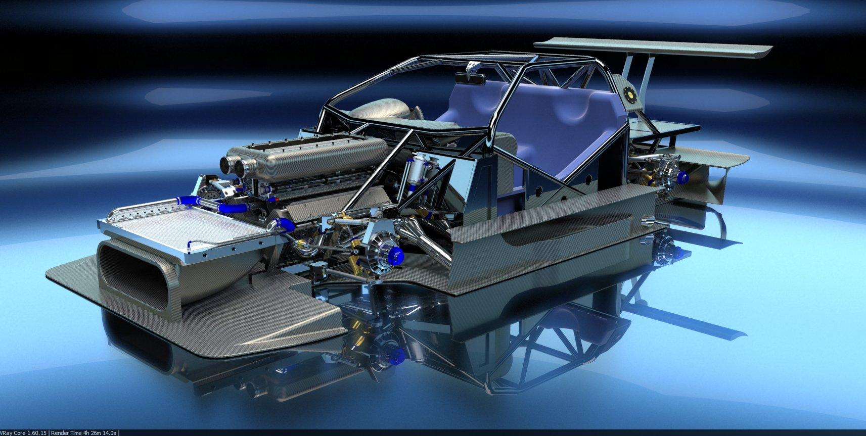 PEASNELL RACING DESIGN 575 GTC HILLCLIMB CAR DETAIL (4)