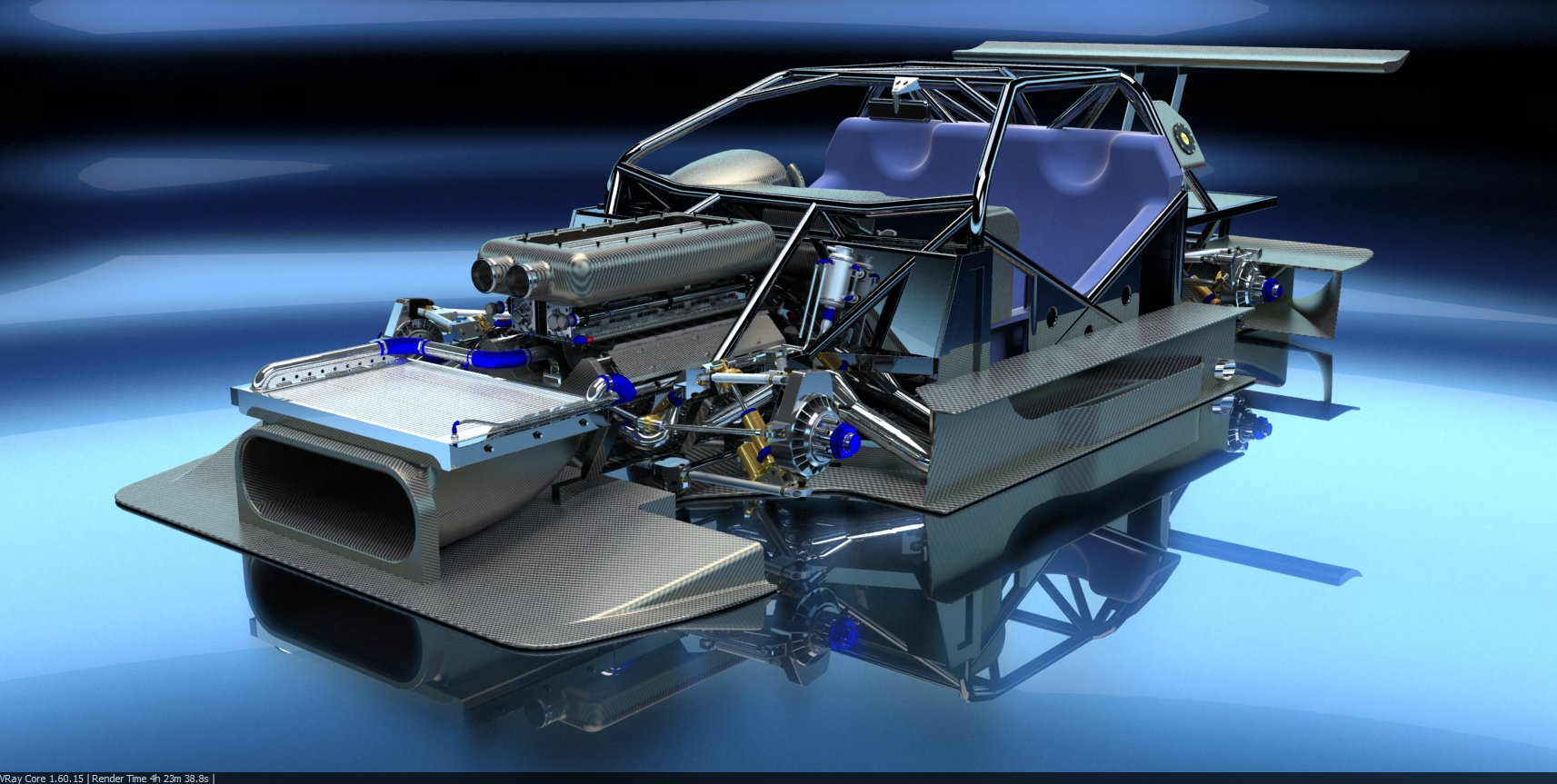 PEASNELL RACING DESIGN 575 GTC HILLCLIMB CAR DETAIL (5)