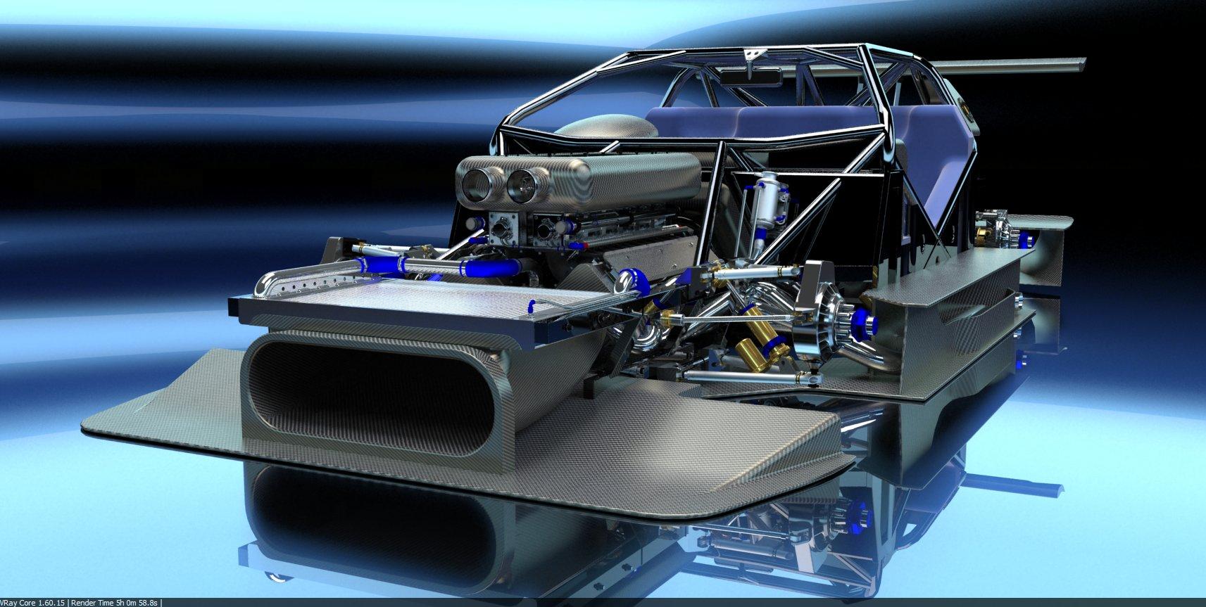 PEASNELL RACING DESIGN 575 GTC HILLCLIMB CAR DETAIL (6)