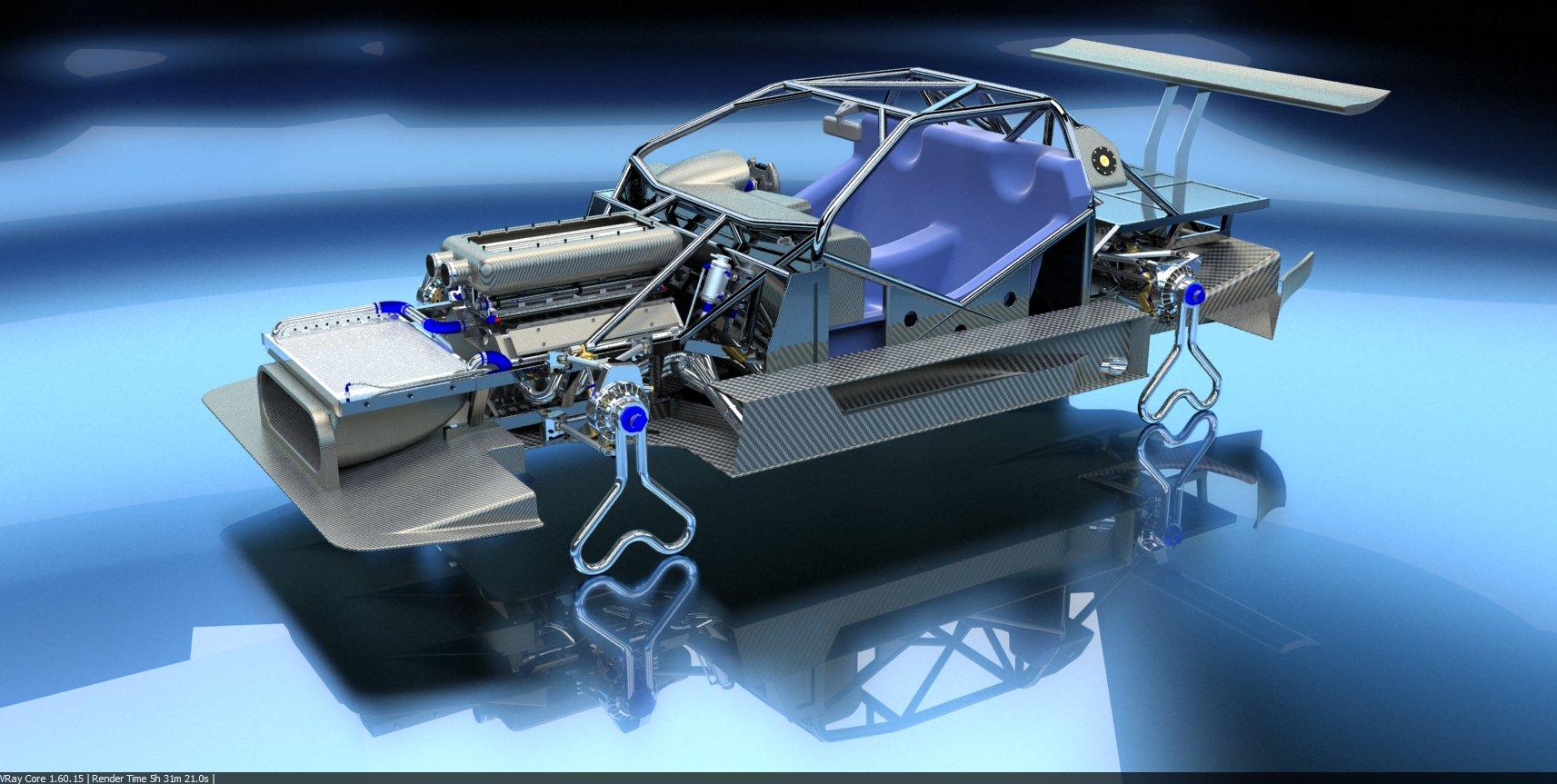 PEASNELL RACING DESIGN 575 GTC HILLCLIMB CAR DETAIL (7)